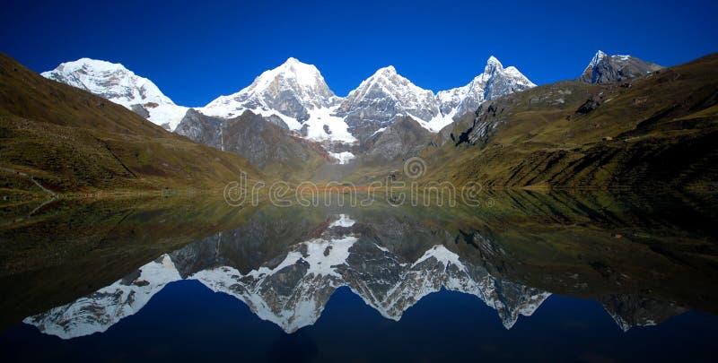 μπλε αντανάκλαση λιμνών στοκ εικόνες με δικαίωμα ελεύθερης χρήσης