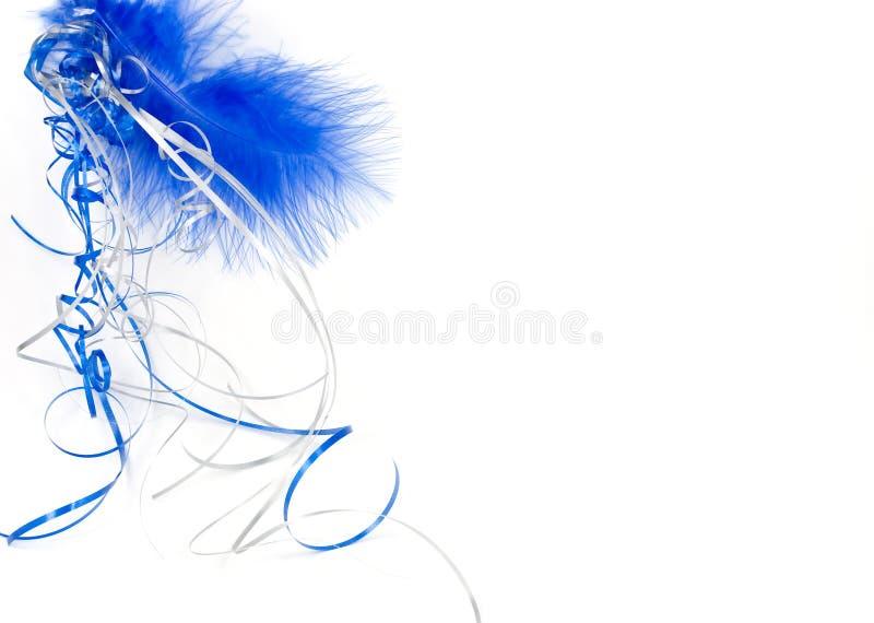 μπλε απομονωμένο διάστημ&alpha στοκ εικόνα