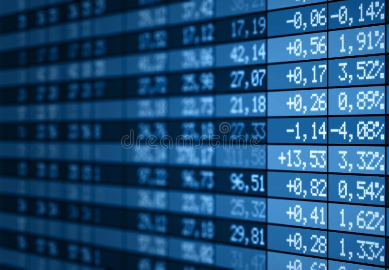 μπλε απόθεμα αγοράς χαρτ&omi απεικόνιση αποθεμάτων