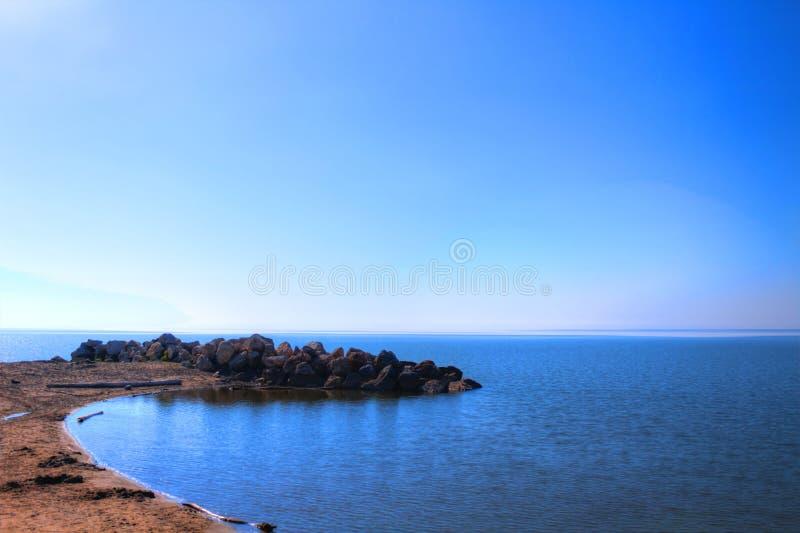 Μπλε απόσταση στοκ φωτογραφία με δικαίωμα ελεύθερης χρήσης