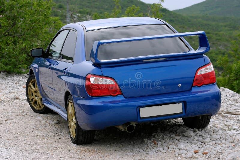 Download μπλε αυτοκίνητο ιαπωνικά στοκ εικόνα. εικόνα από δρόμος - 1528393