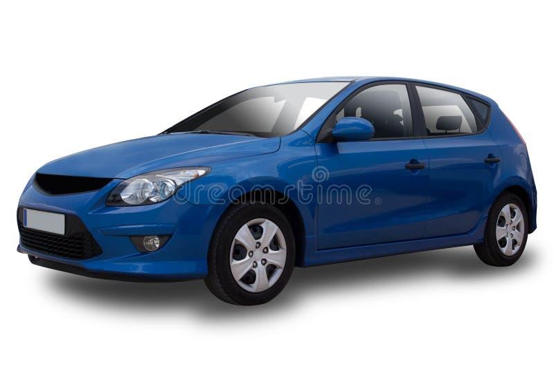 μπλε αυτοκίνητο στοκ εικόνες