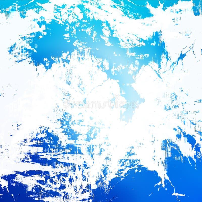 Μπλε αφηρημένη ανασκόπηση διανυσματική απεικόνιση
