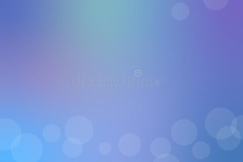 Μπλε αφηρημένο υπόβαθρο θαμπάδων r διανυσματική απεικόνιση