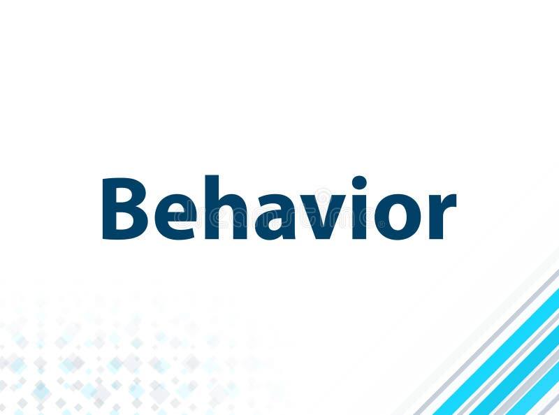 Μπλε αφηρημένο υπόβαθρο σχεδίου συμπεριφοράς σύγχρονο επίπεδο διανυσματική απεικόνιση
