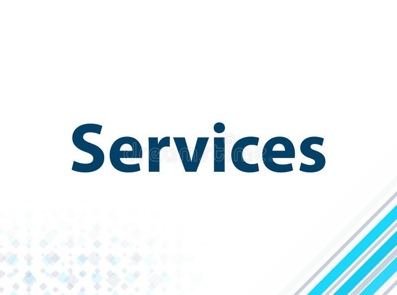 Μπλε αφηρημένο υπόβαθρο σχεδίου υπηρεσιών σύγχρονο επίπεδο ελεύθερη απεικόνιση δικαιώματος