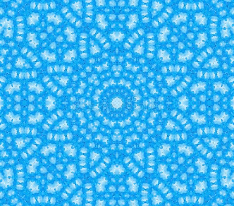Μπλε αφηρημένο φυσικό σχέδιο απεικόνιση αποθεμάτων