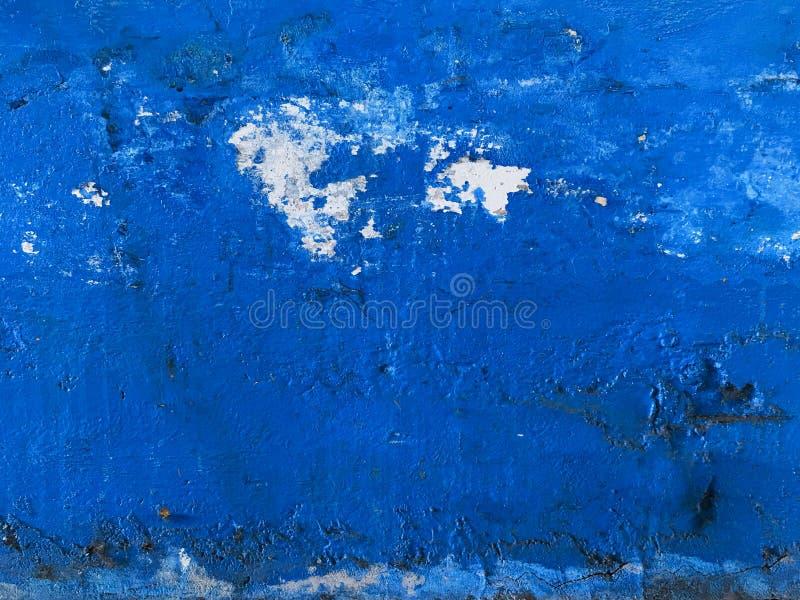 Μπλε βερνικωμένος τοίχος στοκ φωτογραφία με δικαίωμα ελεύθερης χρήσης