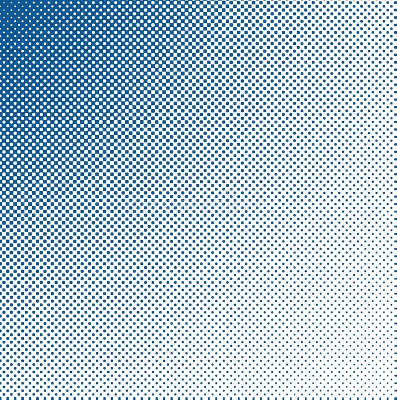 μπλε βρώμικος ημίτονος Στοκ Φωτογραφία