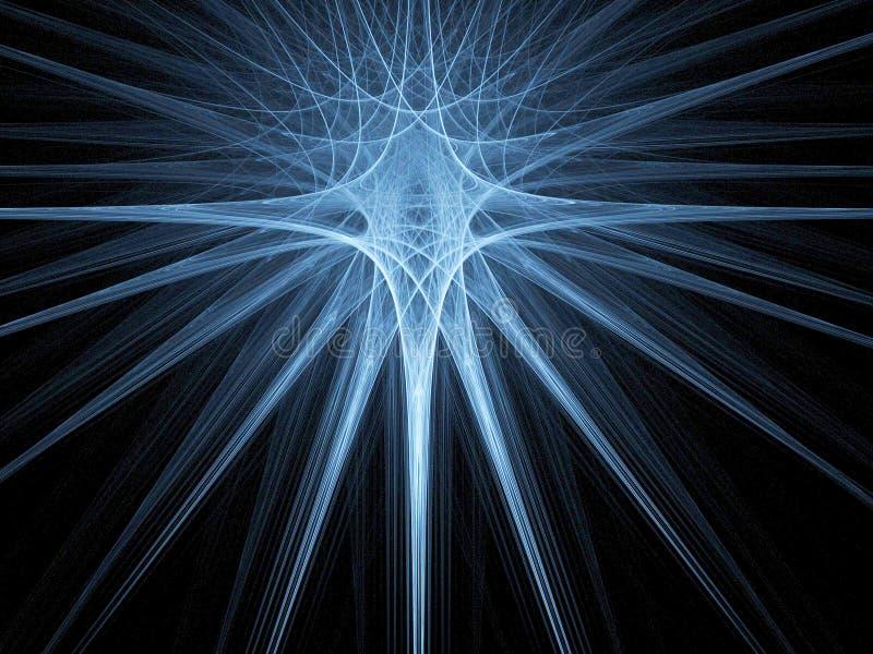 μπλε γεωμετρία απεικόνιση αποθεμάτων