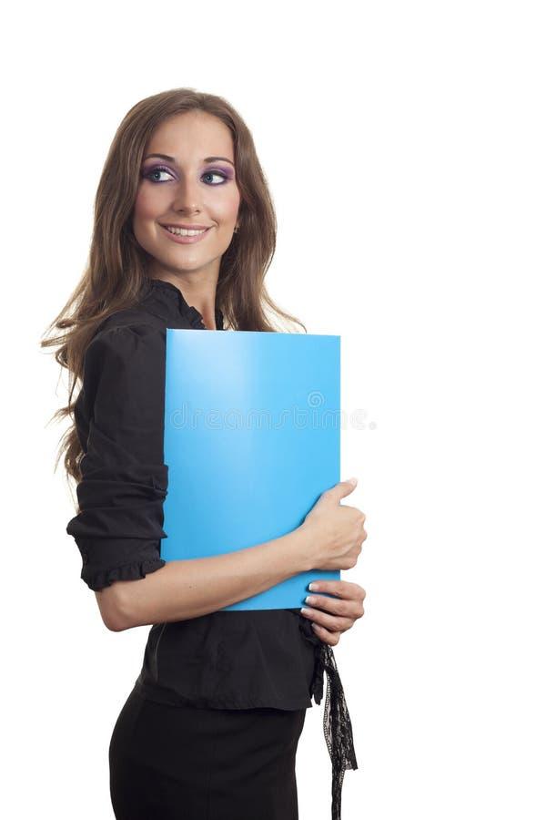 Μπλε γραμματοθήκη στοκ φωτογραφίες