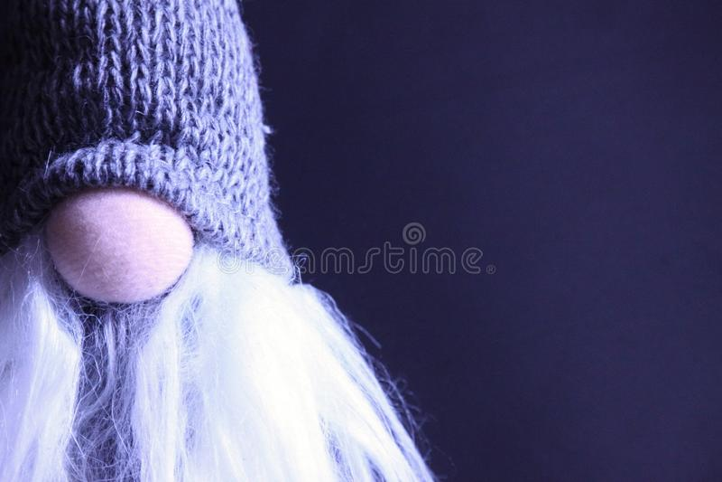 μπλε γυαλί σύνθεσης Χριστουγέννων μπιχλιμπιδιών Υπόβαθρο διακοπών Χριστουγέννων στοκ φωτογραφία