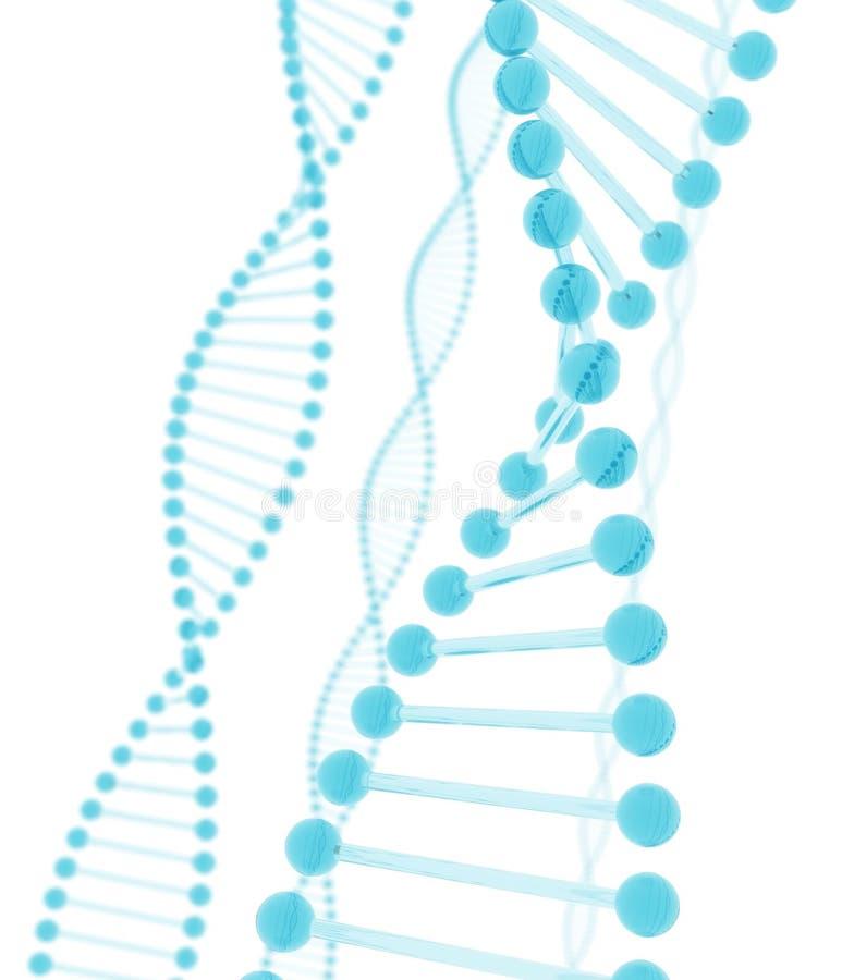 μπλε γυαλί DNA απεικόνιση αποθεμάτων