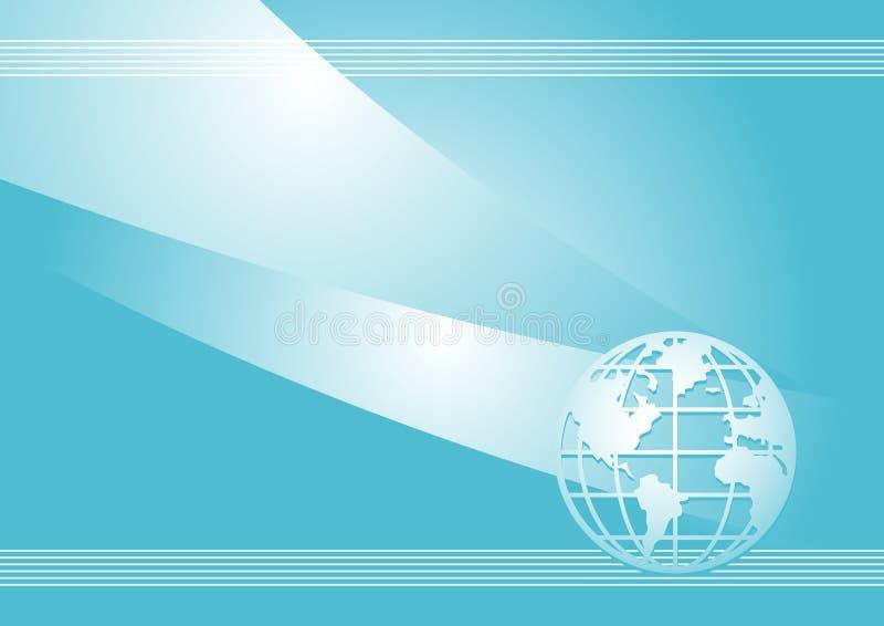 μπλε διάνυσμα ανασκόπηση&sig διανυσματική απεικόνιση