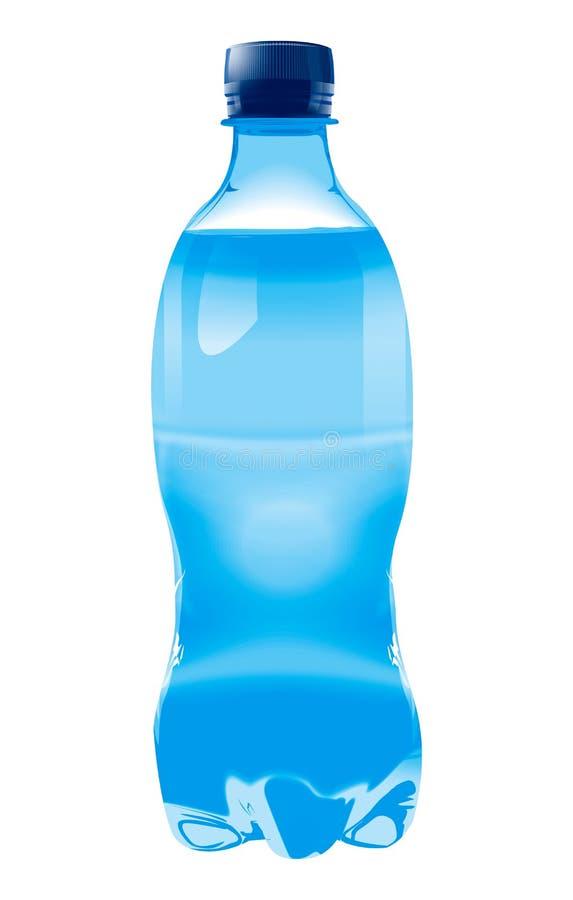 μπλε διάνυσμα μπουκαλιώ&nu διανυσματική απεικόνιση