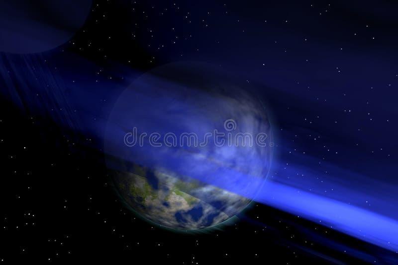 μπλε διάστημα ελεύθερη απεικόνιση δικαιώματος