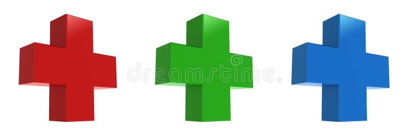 μπλε διαγώνιο πράσινο κόκ&kap στοκ εικόνες