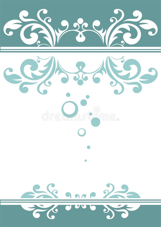 μπλε διακοσμητικός ανα&sigma απεικόνιση αποθεμάτων