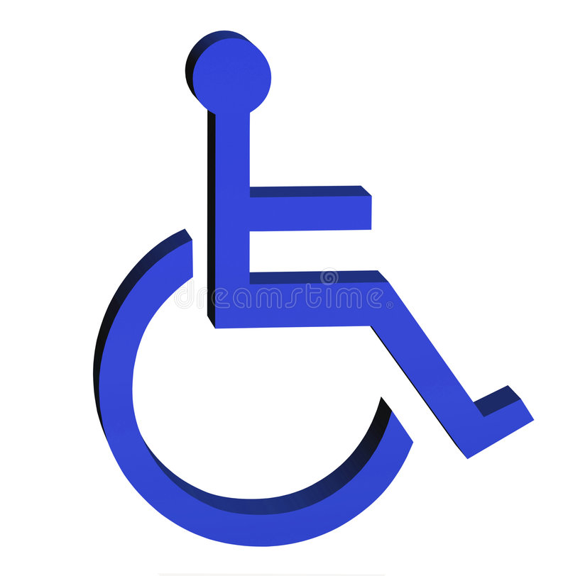 μπλε διακριτικών ελεύθερη απεικόνιση δικαιώματος