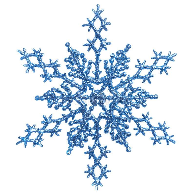 μπλε διακόσμηση Χριστου& στοκ εικόνα