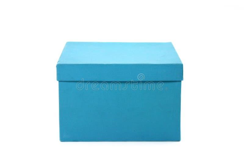 μπλε δώρο κιβωτίων στοκ φωτογραφία με δικαίωμα ελεύθερης χρήσης