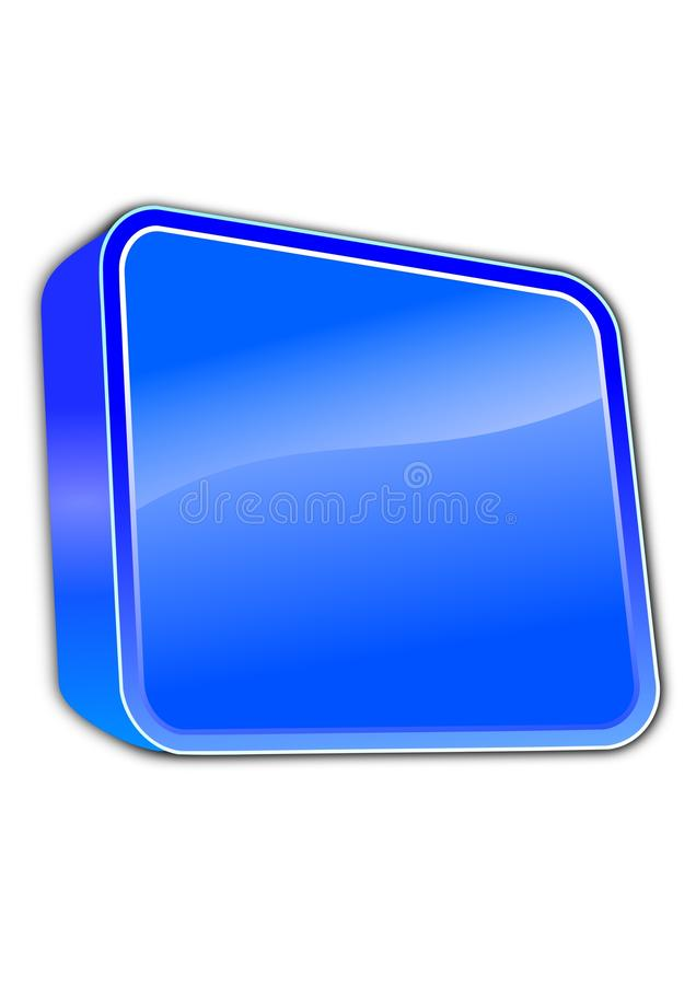 Download μπλε εικονίδιο απεικόνιση αποθεμάτων. εικονογραφία από απεικόνιση - 22791093
