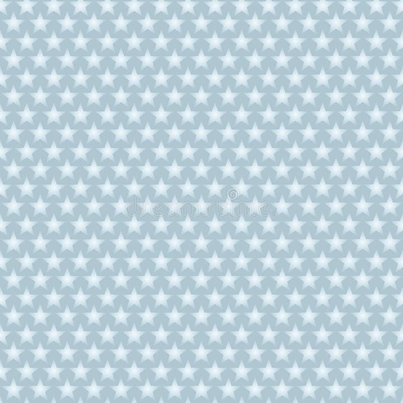 μπλε ελαφριά αστέρια ανα&sigm διανυσματική απεικόνιση