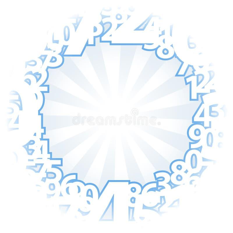 Download μπλε ελαφριοί αριθμοί αν&a διανυσματική απεικόνιση. εικονογραφία από πληθυσμός - 17055491