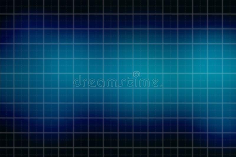 Μπλε ελαφρύ αφηρημένο υπόβαθρο πλέγματος και θαμπάδων απεικόνιση αποθεμάτων
