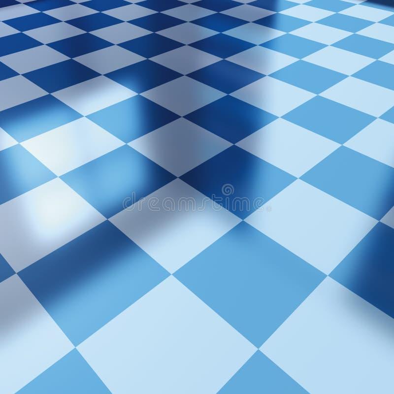 μπλε ελεγκτής χαρτονιών απεικόνιση αποθεμάτων