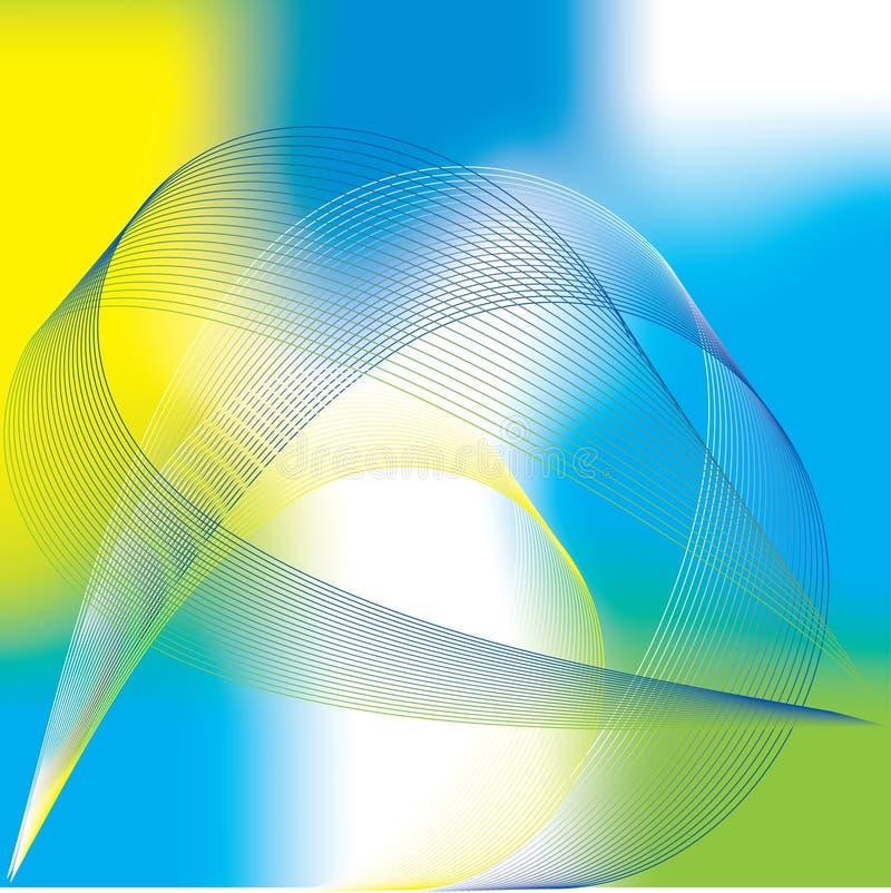 μπλε επιχειρησιακό διάν&upsilon απεικόνιση αποθεμάτων