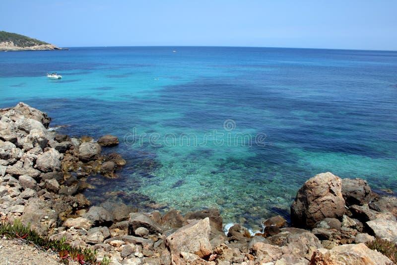 μπλε θάλασσα watersport στοκ εικόνα