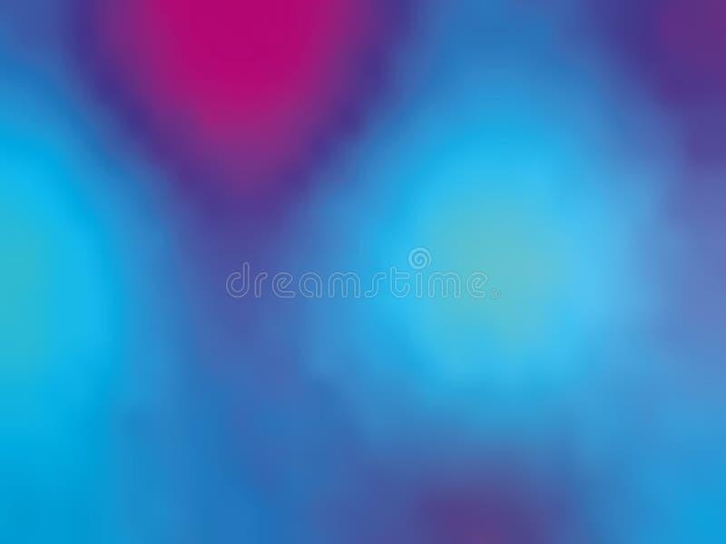 Μπλε-ιώδες ολογραφικό υπόβαθρο κλίσης Η δεκαετία του '80 ύφους - η δεκαετία του '90 Ζωηρόχρωμη διανυσματική απεικόνιση σχεδίου σύ απεικόνιση αποθεμάτων