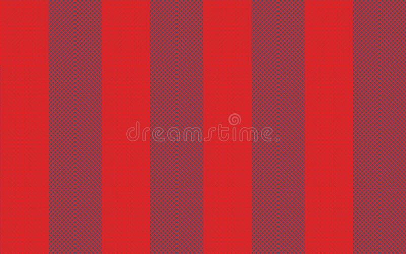 Μπλε και κόκκινο υπόβαθρο ταπετσαριών σύστασης σχεδίου σχεδίων έργου τέχνης απεικόνισης πλέγματος στοκ φωτογραφία με δικαίωμα ελεύθερης χρήσης