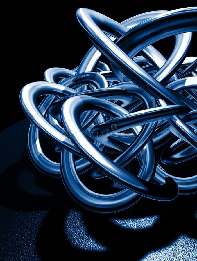 μπλε καλημάνα απεικόνιση αποθεμάτων
