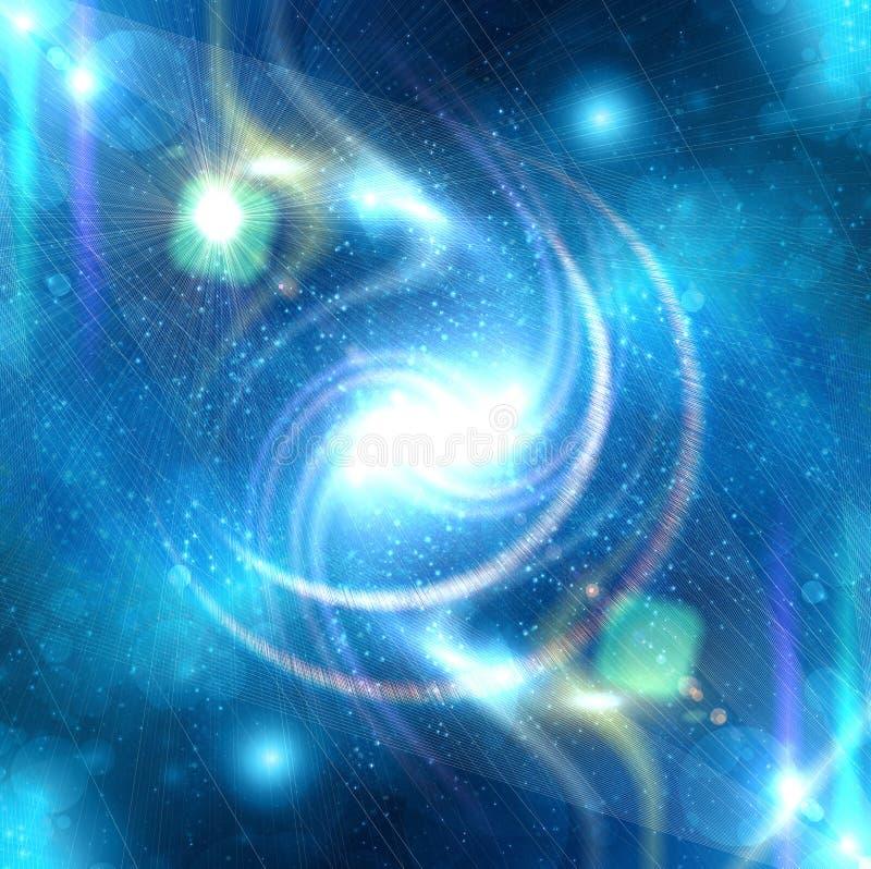 μπλε καμμένος αστέρι ελεύθερη απεικόνιση δικαιώματος