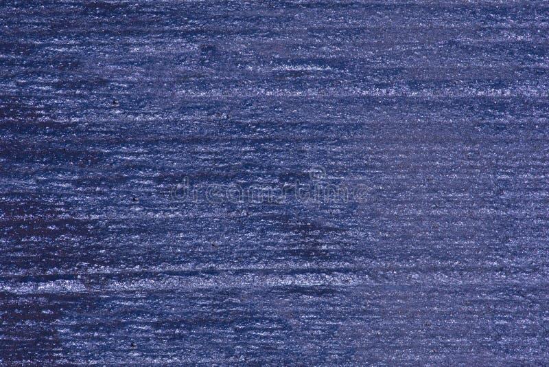 Μπλε κατασκευασμένος δρόμος ασφάλτου στοκ φωτογραφία