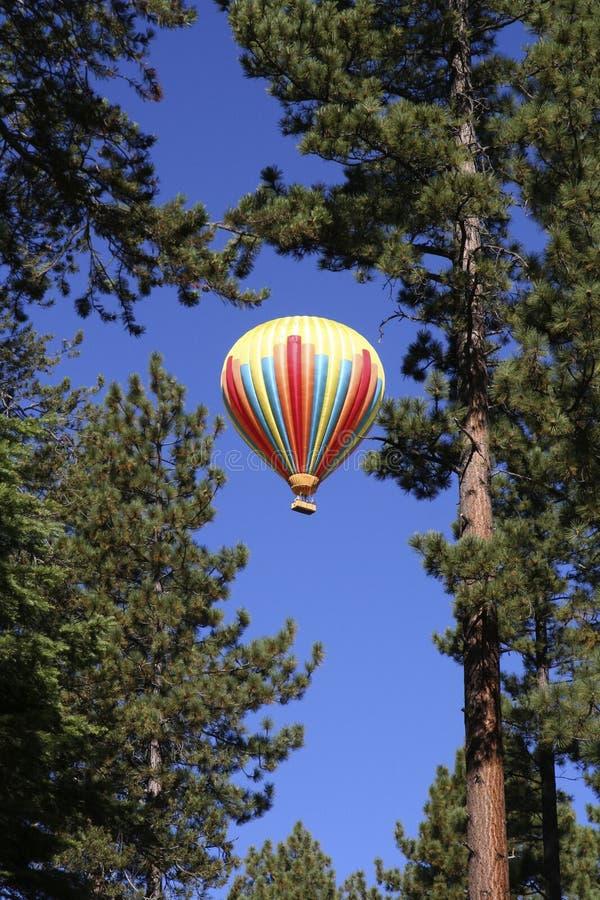μπλε καυτός ουρανός αέρα στοκ φωτογραφία με δικαίωμα ελεύθερης χρήσης
