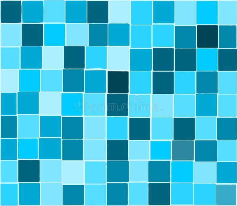 μπλε κεραμίδια ανασκόπησ& ελεύθερη απεικόνιση δικαιώματος