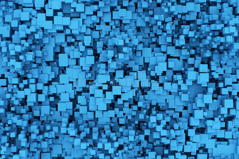 μπλε κιβώτια ανασκόπησης ελεύθερη απεικόνιση δικαιώματος