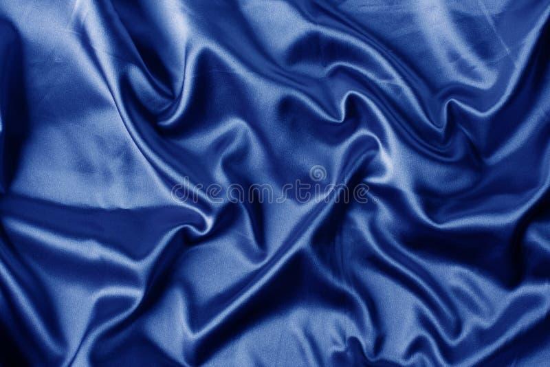 μπλε κομψό σατέν ανασκόπησ&et στοκ εικόνες