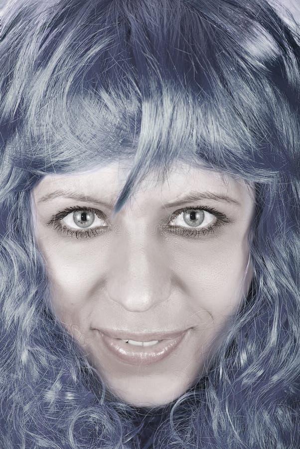 Download Μπλε κορίτσι στοκ εικόνα. εικόνα από τρίχωμα, καλός, έξυπνο - 13175637