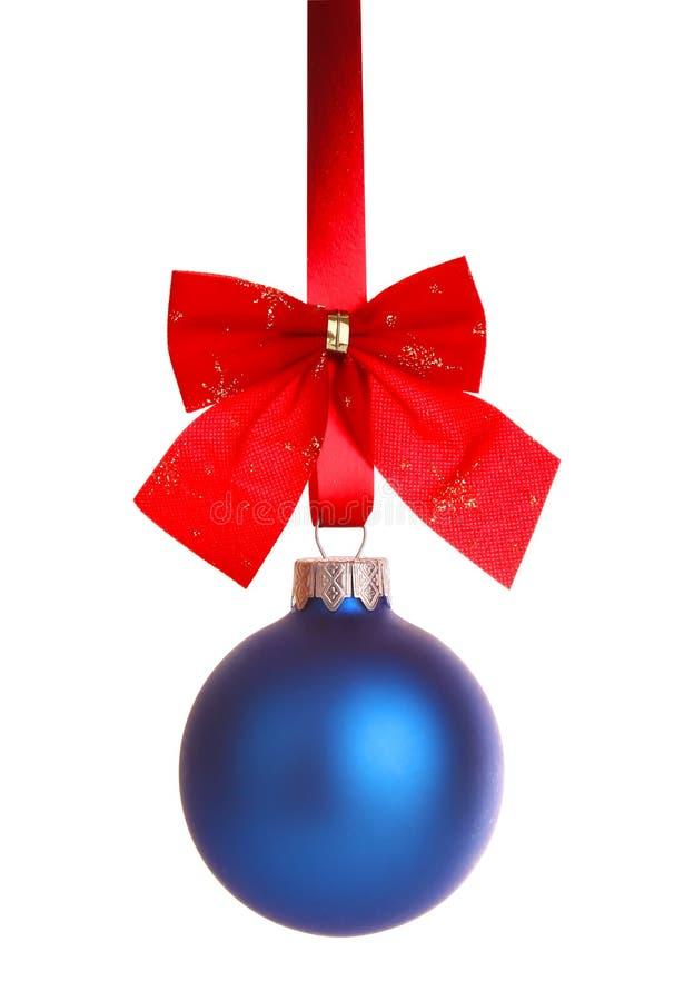 μπλε κορδέλλα διακοσμή&si στοκ φωτογραφία με δικαίωμα ελεύθερης χρήσης