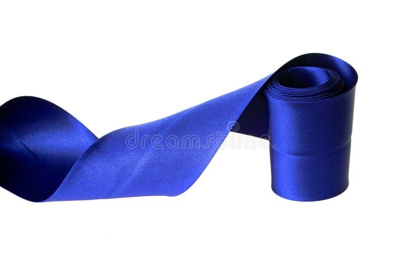 μπλε κορδέλλα στοκ εικόνα με δικαίωμα ελεύθερης χρήσης