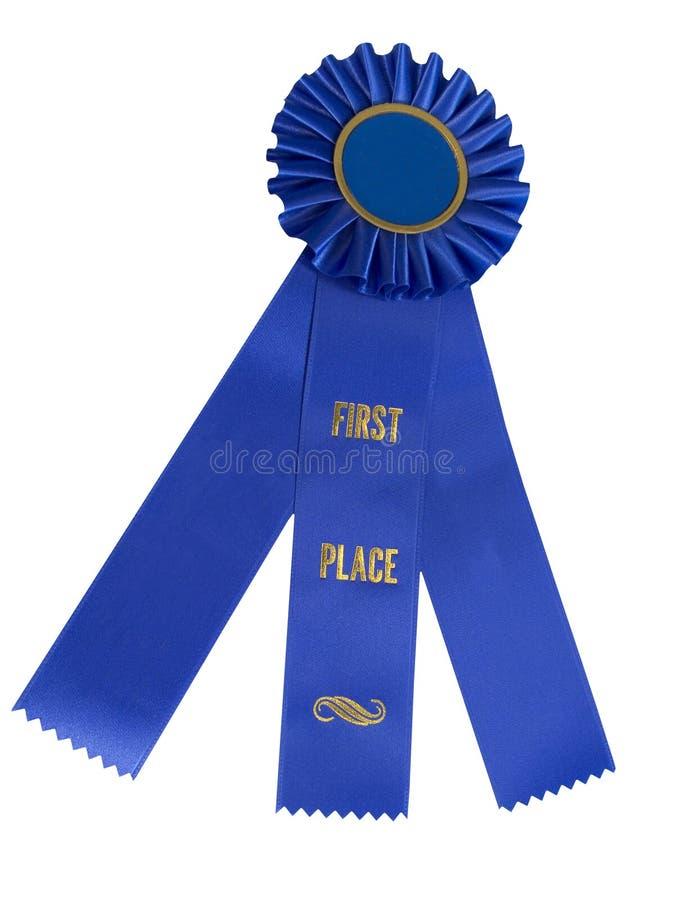 Download μπλε κορδέλλα στοκ εικόνα. εικόνα από νομός, βραβείο, άσπρος - 95083