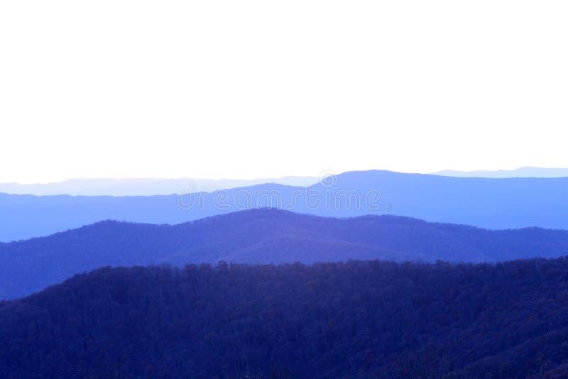 μπλε κορυφογραμμή στοκ εικόνα