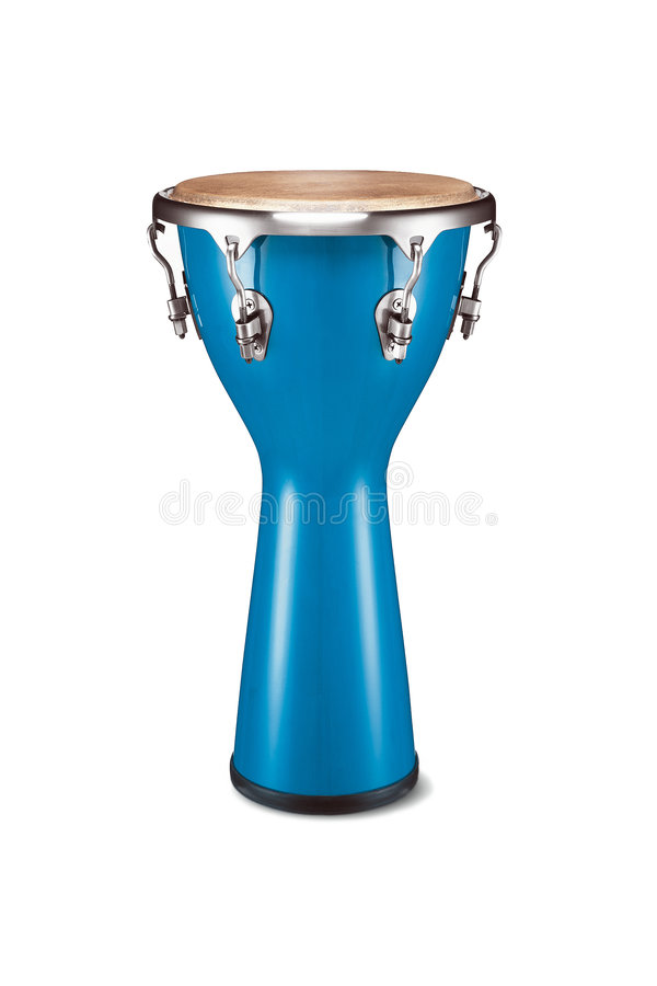 μπλε κρούση conga στοκ φωτογραφία με δικαίωμα ελεύθερης χρήσης