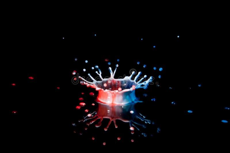 Download μπλε κόκκινο λευκό παφλ&al στοκ εικόνα. εικόνα από plexiglas - 13180865