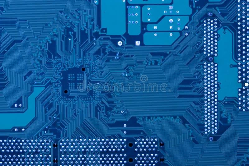 μπλε κύκλωμα χαρτονιών στοκ φωτογραφία με δικαίωμα ελεύθερης χρήσης