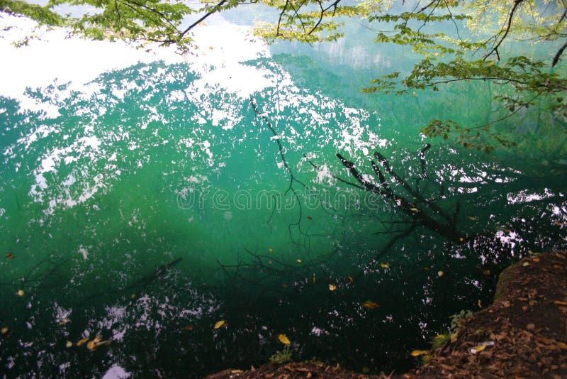 Μπλε λίμνη στην Καμπαρντίνο-Μπαλκαρία στοκ φωτογραφία με δικαίωμα ελεύθερης χρήσης